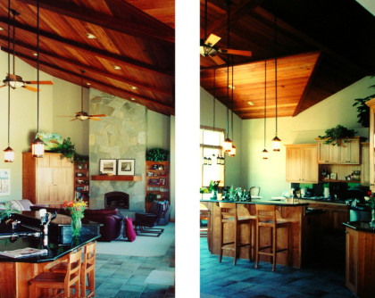 WMR Residential Design. New custom home, country craftsman  in Reno, Nevada.