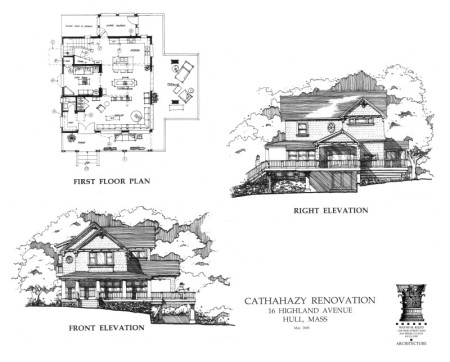 WMR Residential Design. Renovation, Hull, Mass.