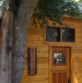 WMR Residential Design. Unique hut project, Santa Cruz, CA.