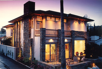 WMR Residential Design. Prairie style remodel project in Bayshores, Newport Beach, CA.